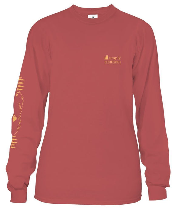 Youth Simply Southern Long Sleeve Camp Tee