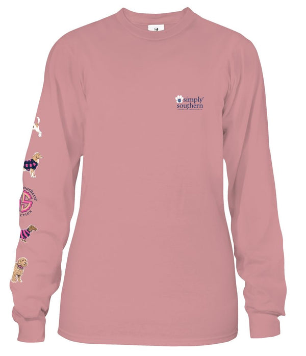 Youth Simply Southern Long Sleeve Puplogo Tee