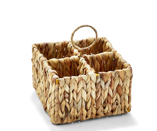 Water Hyacinth Sectional Caddy