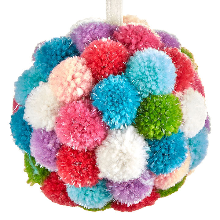 Pom Pom Ball Ornament