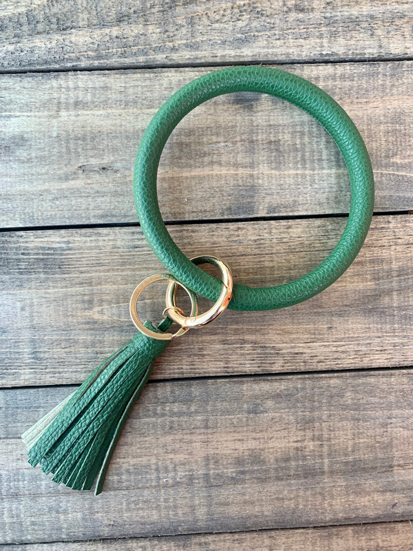 Green Bangle Keychain