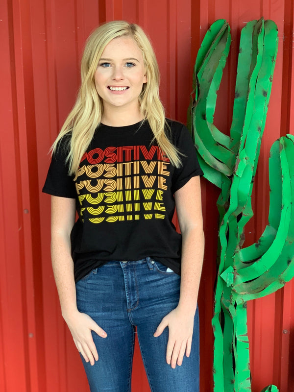 Positive Graphic Top