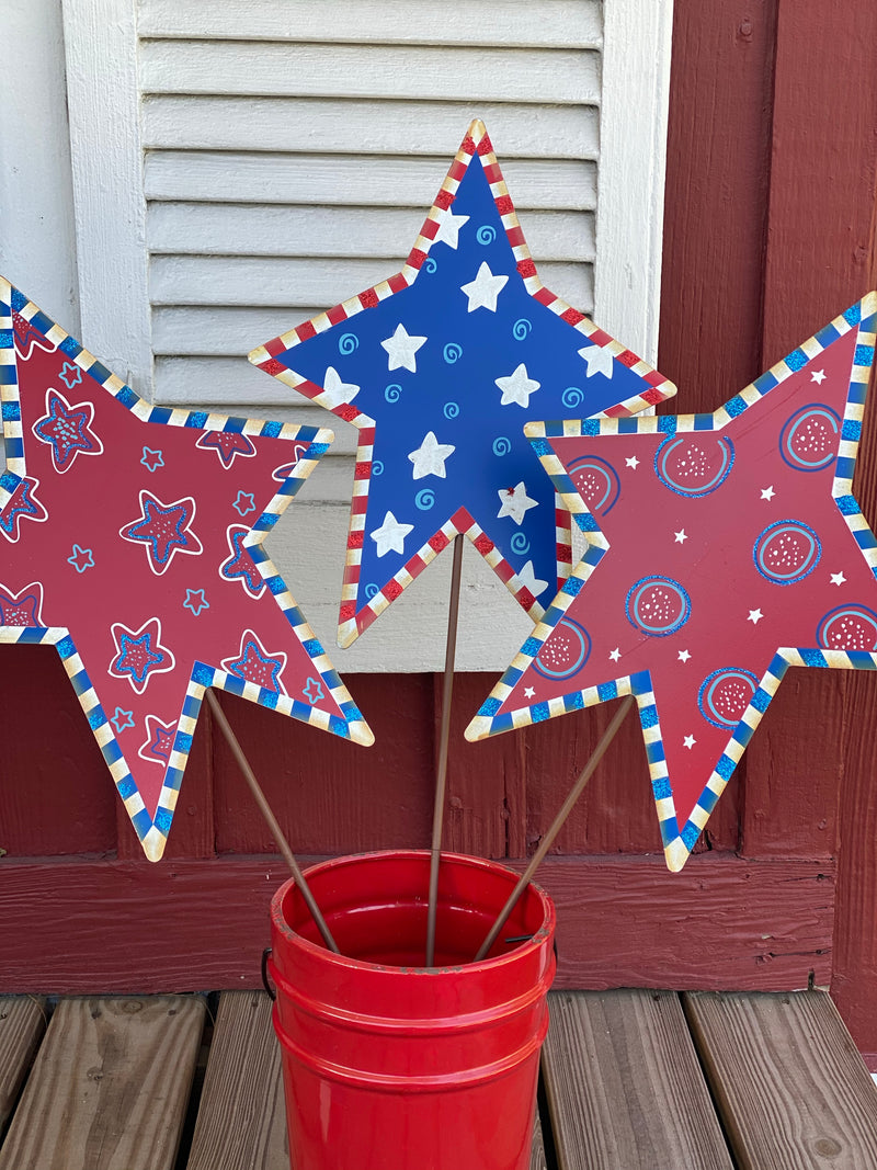 Crazy Stars Set of 3