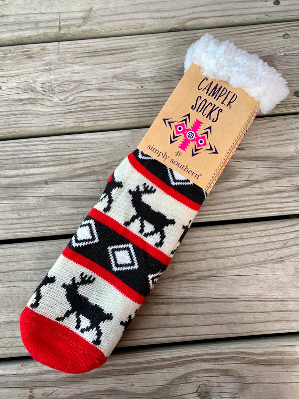Camper Socks Deerful