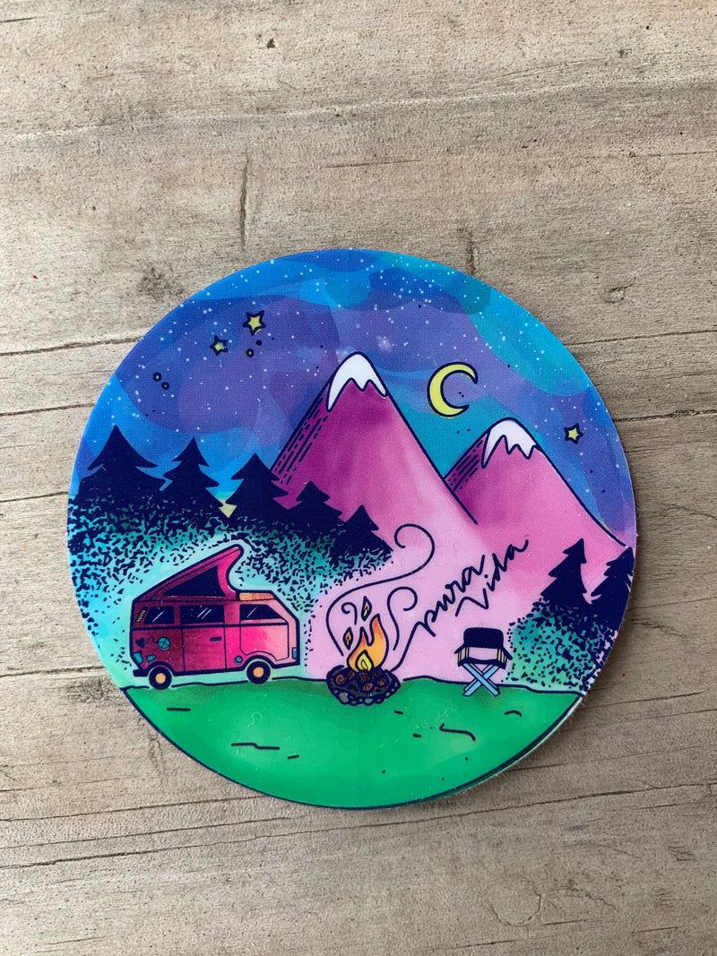 Under the Stars Sticker