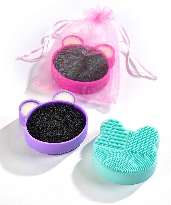 Silicone Makeup Brush Cleaner Assorted Colors