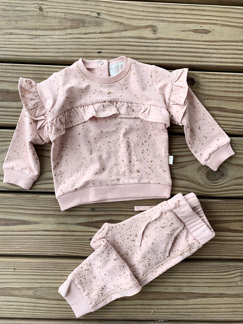 Gold Print Sweats Toddler