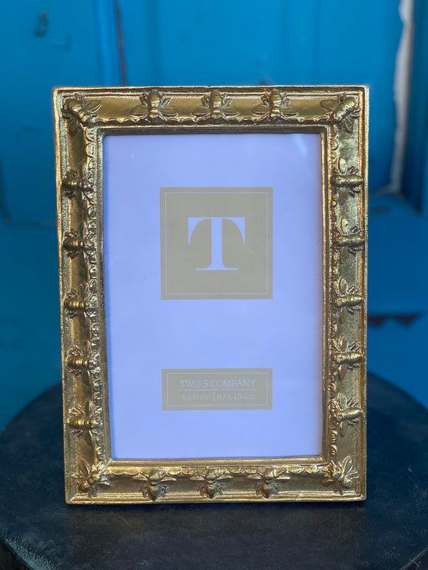 Golden Bee Frame Small