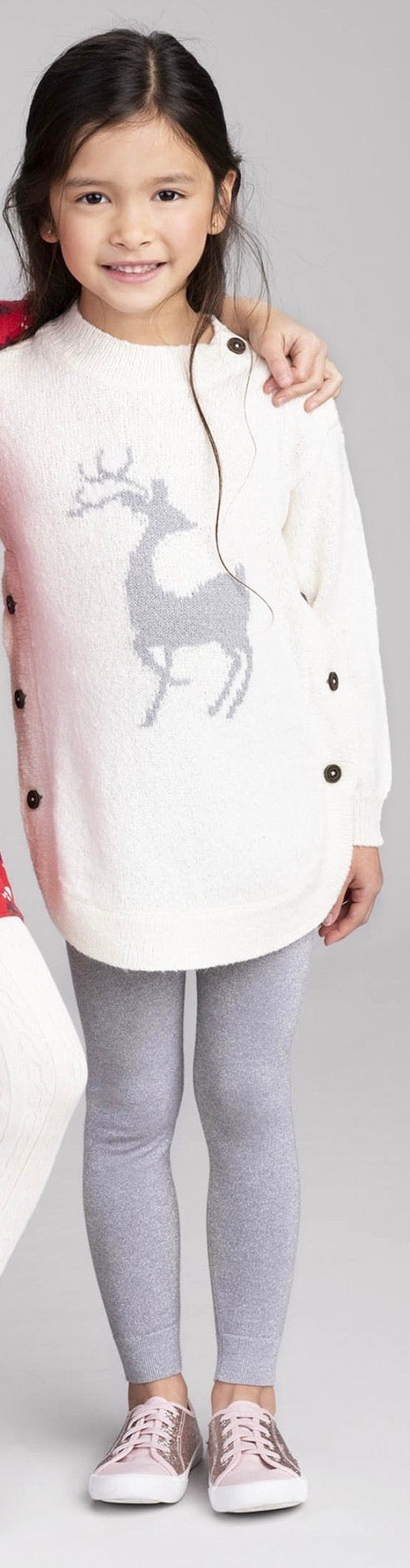 Mistletoe Deer Sweater