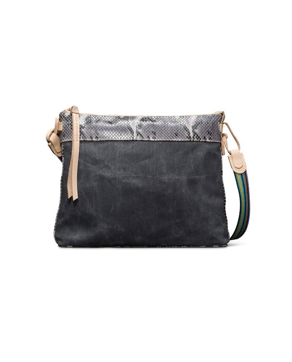 Consuela Flynn Grey Downtown Crossbody