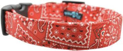 X-Small Collar Red Bandana