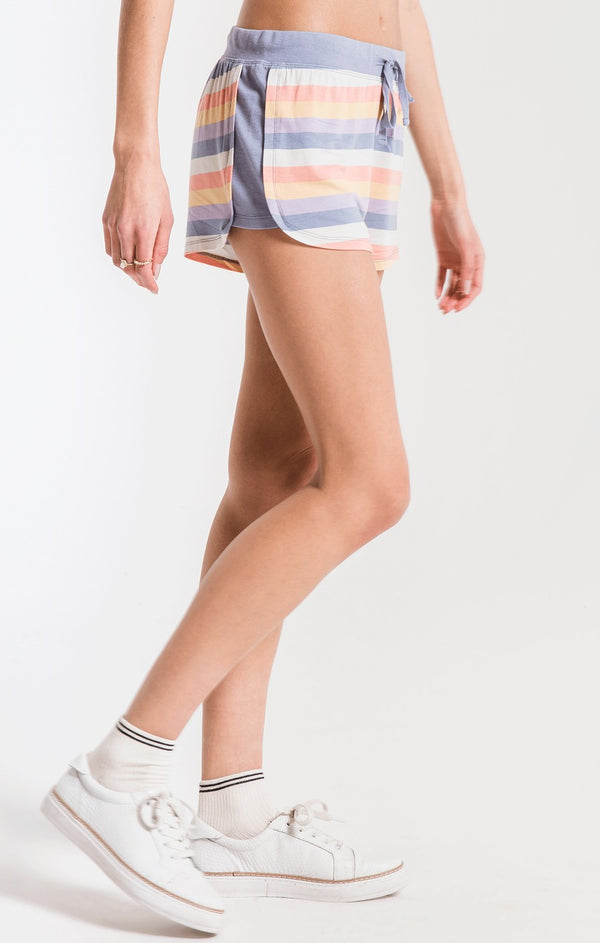 The Rainbow Stripe Short