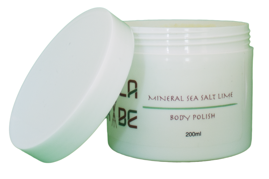 Mineral Sea Salt Lime Body Polish (200ml)