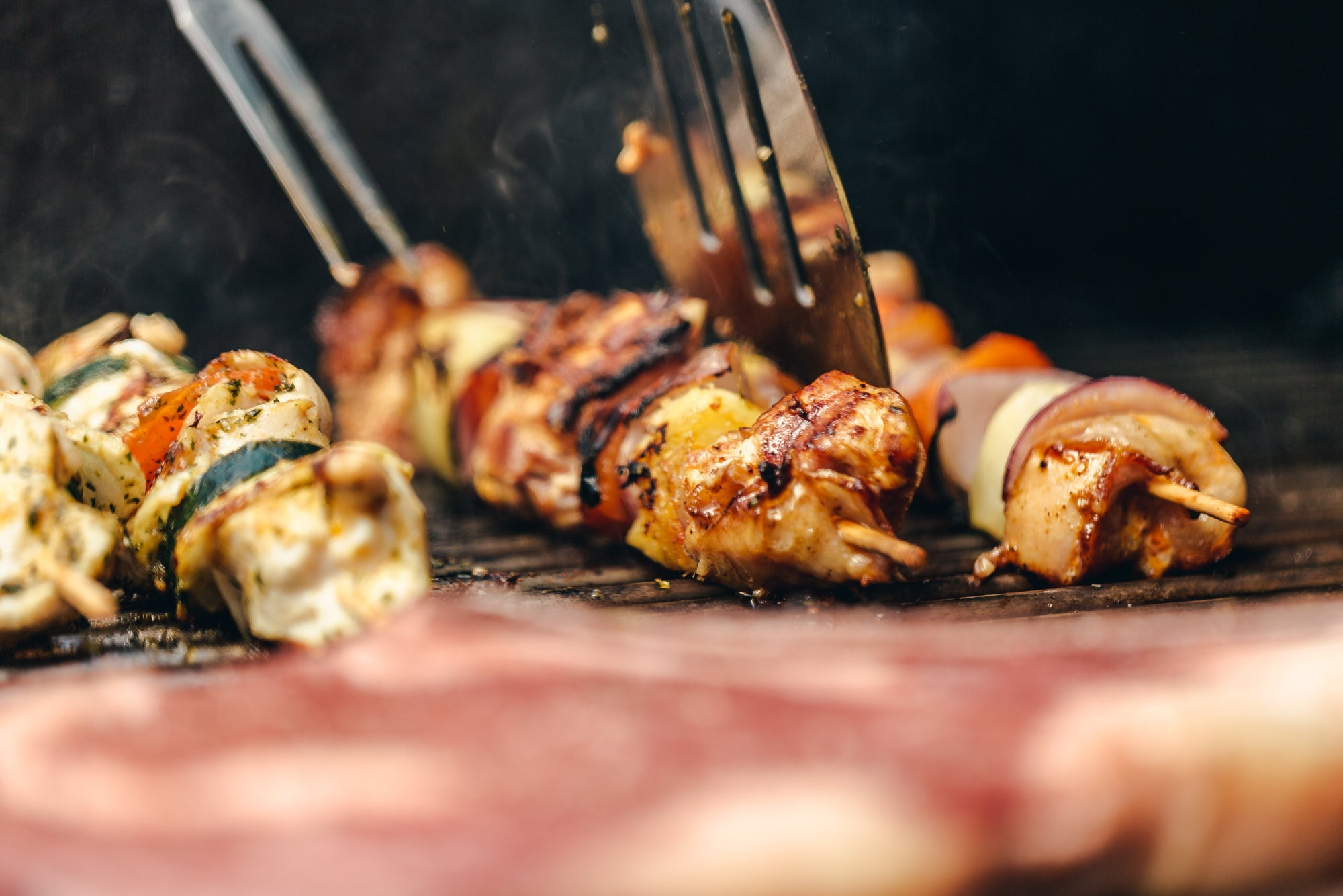 Party Favorite | BBQ Chicken Kebabs