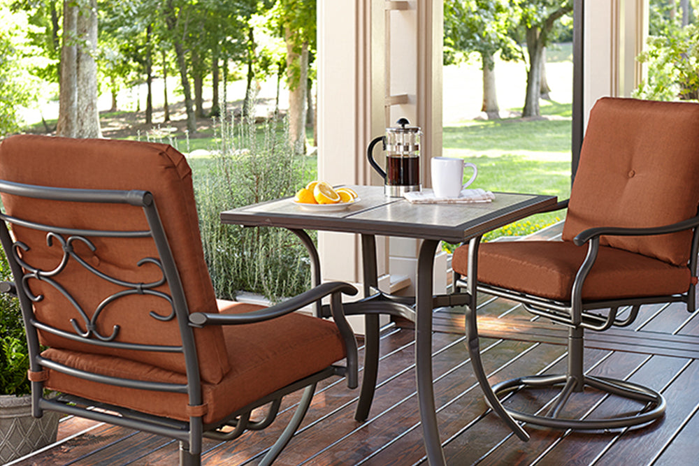 Jaclyn Smith Kmart Clermont 3PC Outdoor Patio Bistro Furniture Set