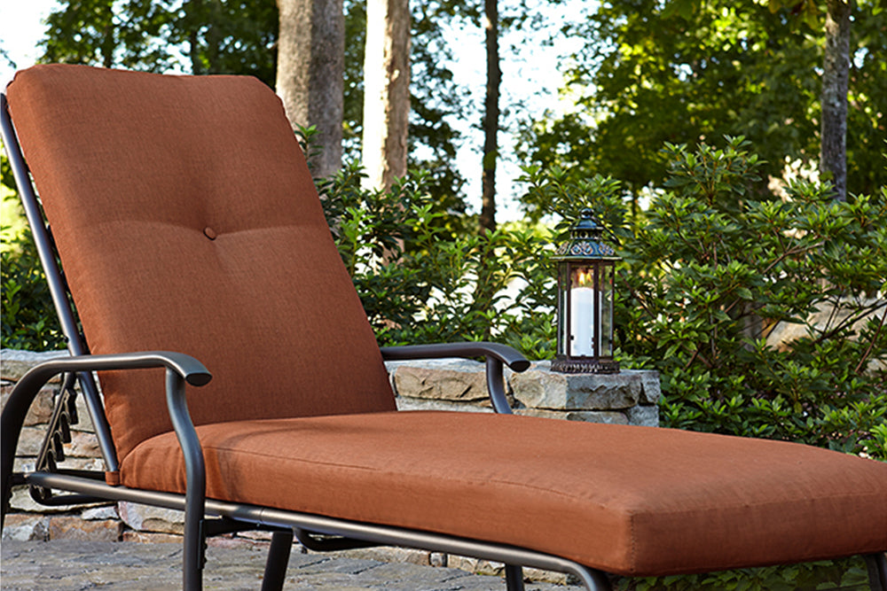 Jaclyn Smith Kmart Clermont Cushion Outdoor Furniture Chaise Lounge Chair