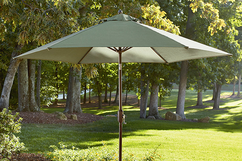 Jaclyn Smith Kmart Clermont Green 9FT Market Umbrella