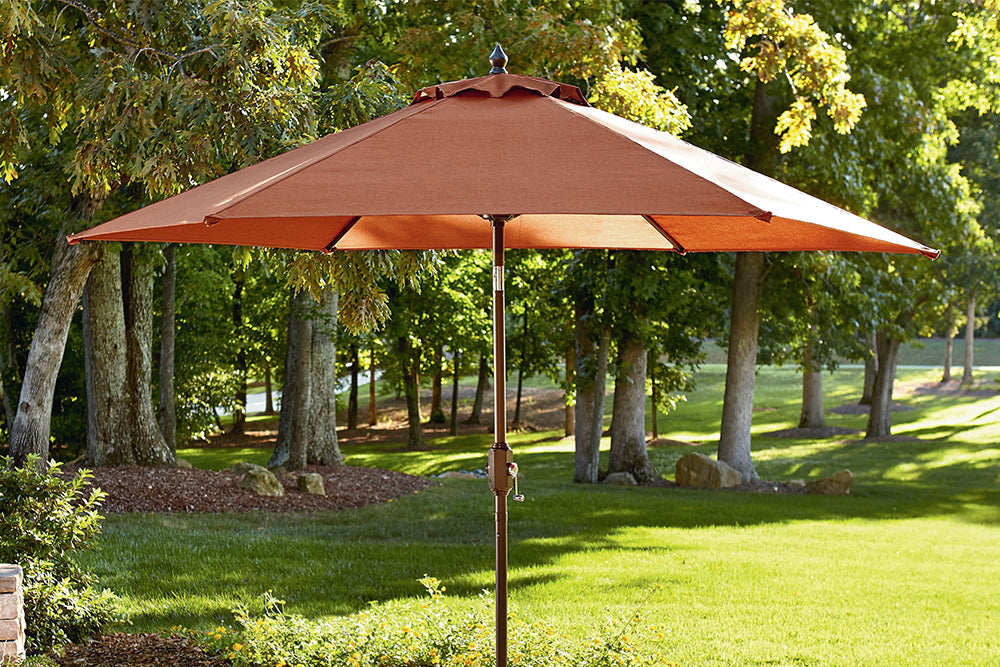 Jaclyn Smith Kmart Clermont 9FT Red Market Umbrella