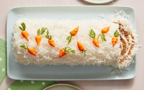 Carrot Cake Jelly Roll