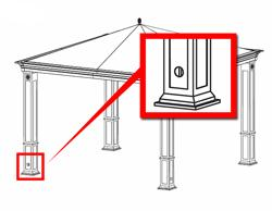 Tiverton Series 3 Gazebo Identify