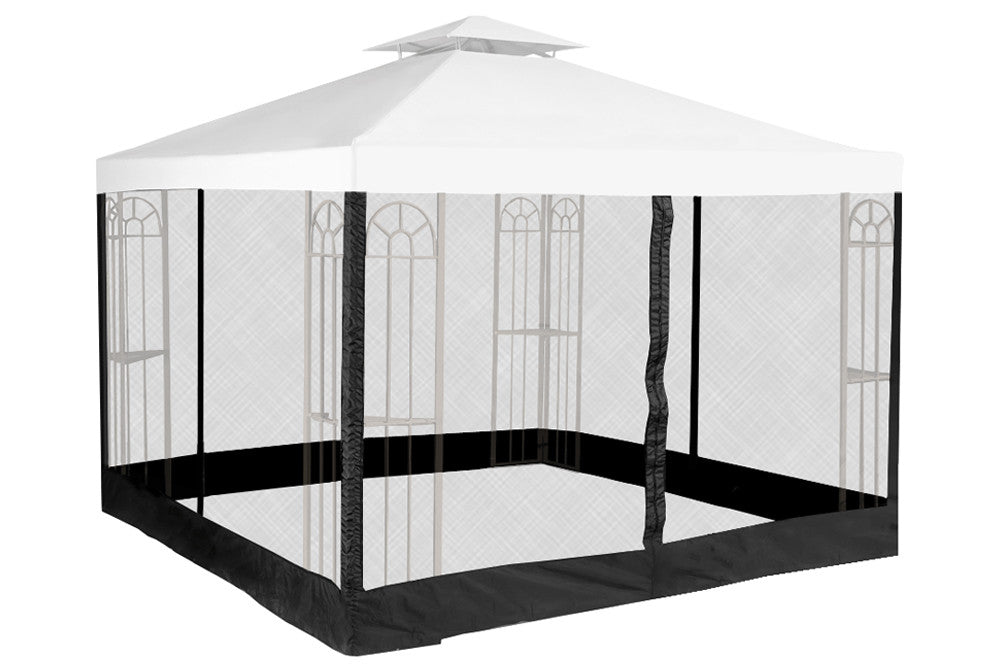 mosquito net for 10x10 gazebo