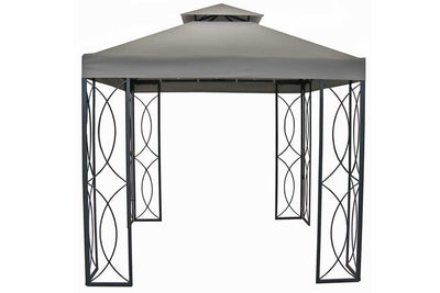 8x8 FT Garden Treasures Gazebo HG Replacement Canopy