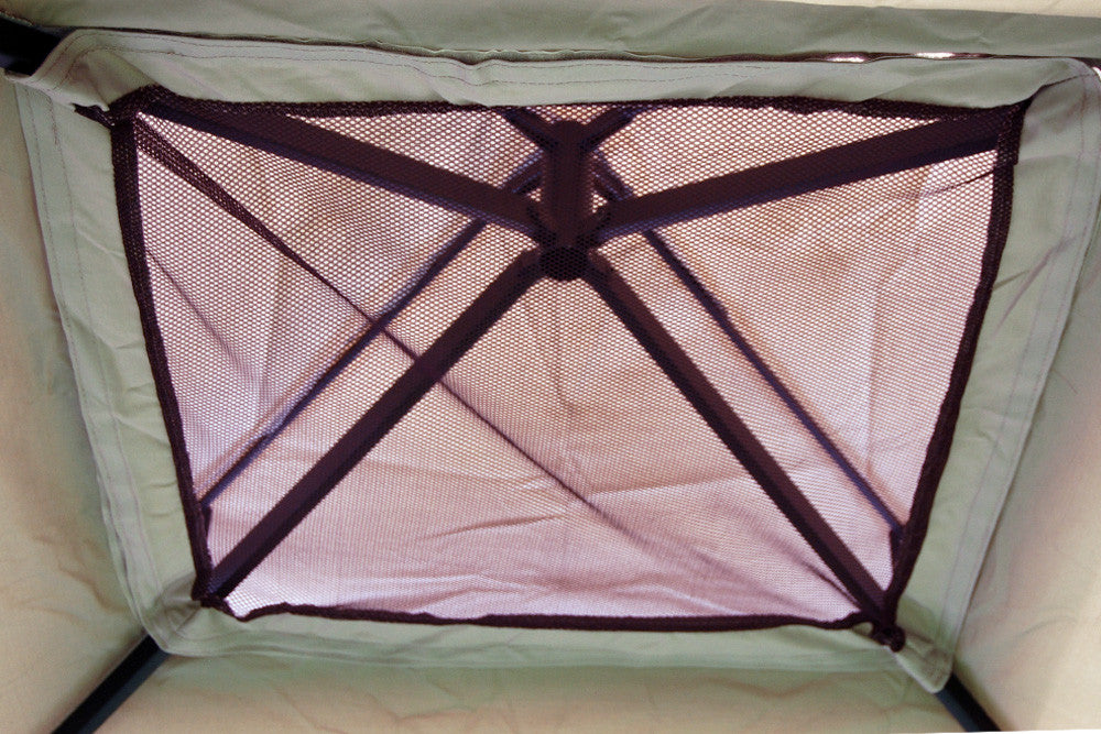 8 ft. x 8 ft. Matte Black Steel Frame Gazebo Wind Vent Insect Net
