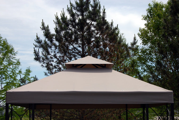 10 Ft X 10 Ft Hg Replacement Canopy For Garden Treasures