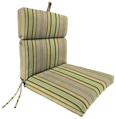 Outdoor French Edge Dining Chair Cushion-TERRACE SUNRISE RICHLOOM