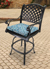 Outdoor French Edge Seat Cushion-MEDLO BAY RICHLOOM