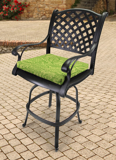 Outdoor French Edge Seat Cushion-MAVEN LEAF RICHLOOM