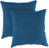 "Outdoor 18"" Accessory Throw Pillows, Set of 2- Sunbrella CAVAS REGATTA GLEN RAVEN"