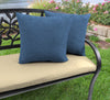 "Outdoor 18"" Accessory Throw Pillows-HUSK TEXTURE CAPRI RICHLOOM"