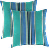 "Outdoor 16"" Accessory Throw Pillows, Set of 2- Sunbrella DOLCE STR OASIS ACR GLEN RAVEN"