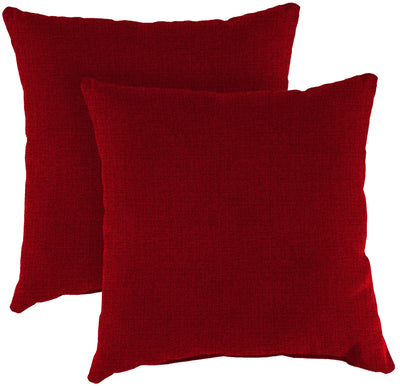 "Outdoor 16"" Accessory Throw Pillows, Set of 2-MCHUSK BERRY RICHLOOM"