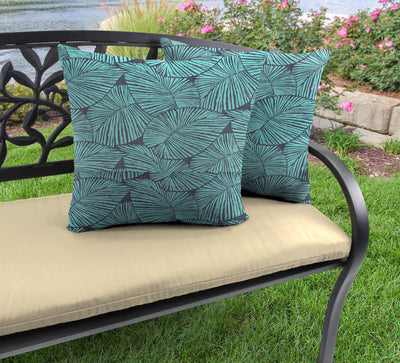 "Outdoor 16"" Accessory Throw Pillows, Set of 2-TALIA CARIBE RICHLOOM"