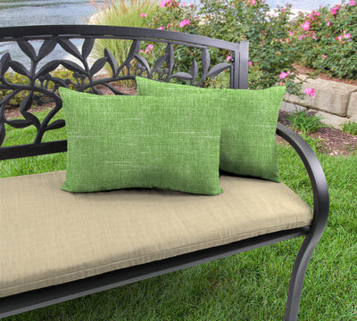 Outdoor Lumbar Accessory Throw Pillows, Set of 2-TORY PALM RICHLOOM