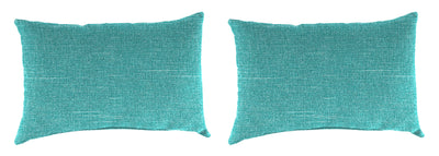 Outdoor Lumbar Accessory Throw Pillows, Set of 2-TORY CARIBE RICHLOOM
