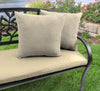 "20"" Outdoor Accessory Throw Pillows, Set of 2-TORY BISQUE RICHLOOM"
