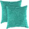 "20"" Outdoor Accessory Throw Pillows, Set of 2-MAVEN LAGOON RICHLOOM"