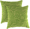 "20"" Outdoor Accessory Throw Pillows, Set of 2-MAVEN LEAF RICHLOOM"