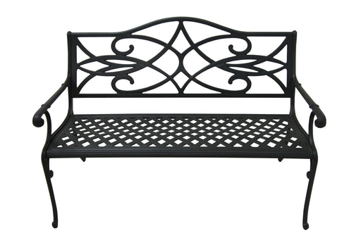 Cast Aluminum Patio Bench