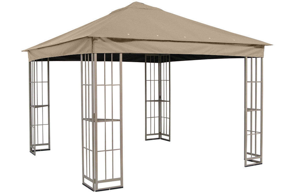 Garden Treasures 10'x10' Canopy for S-J-109DN in Taupe