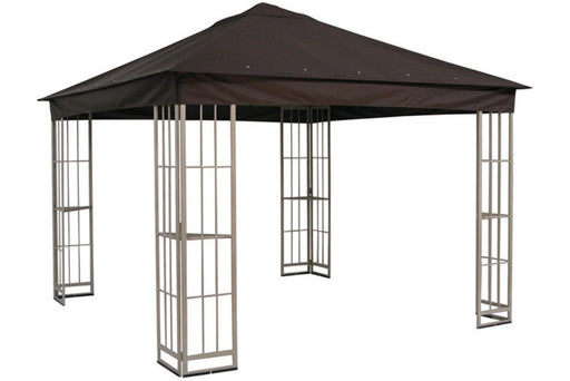 Garden Treasures 10'x10' Canopy for S-J-109DN in Dark Brown