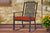 Cushion Rocking Chair Red