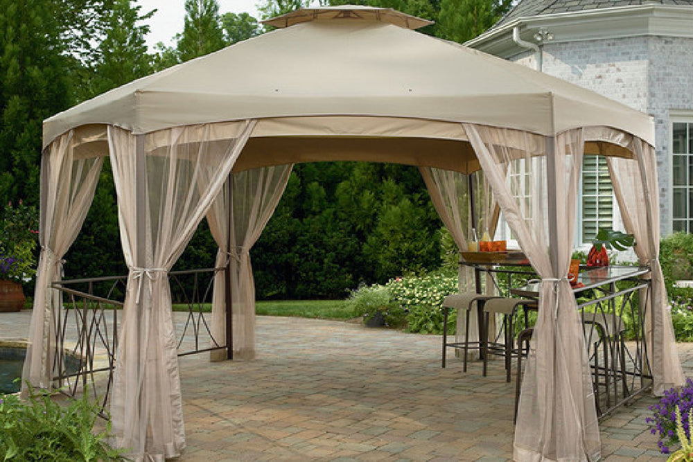 Replacement Canopy for Garden Oasis Clayton Hex Gazebo Numark