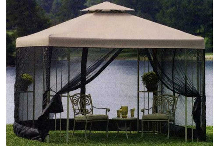 10'x10' Garden Treasures Gazebo Replacement Canopy / High-Grade
