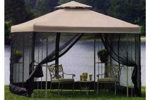 Replacement canopy for better homes garden emerald coast pergola the outdoor patio store Better homes and gardens gazebo
