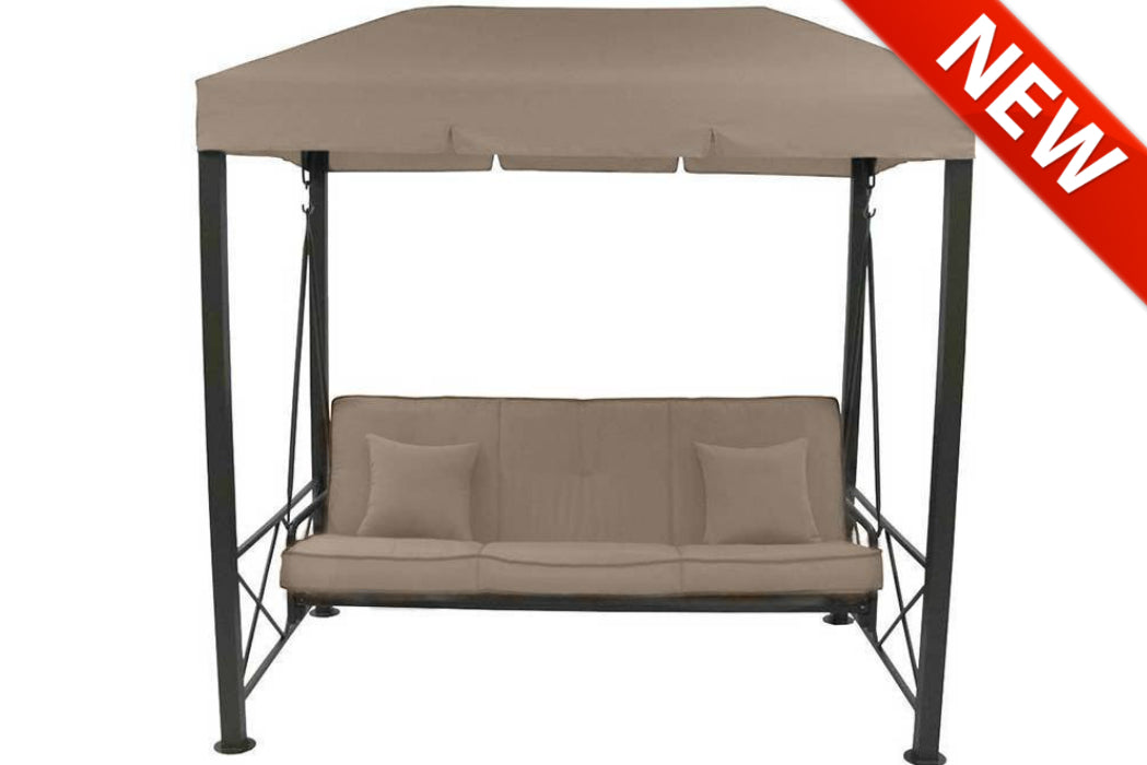 Replacement Canopy for Target 3 Person Patio Swing - High Grade 300D u2014 The Outdoor Patio Store  sc 1 st  The Outdoor Patio Store & Replacement Canopy for Target 3 Person Patio Swing - High Grade 300D ...