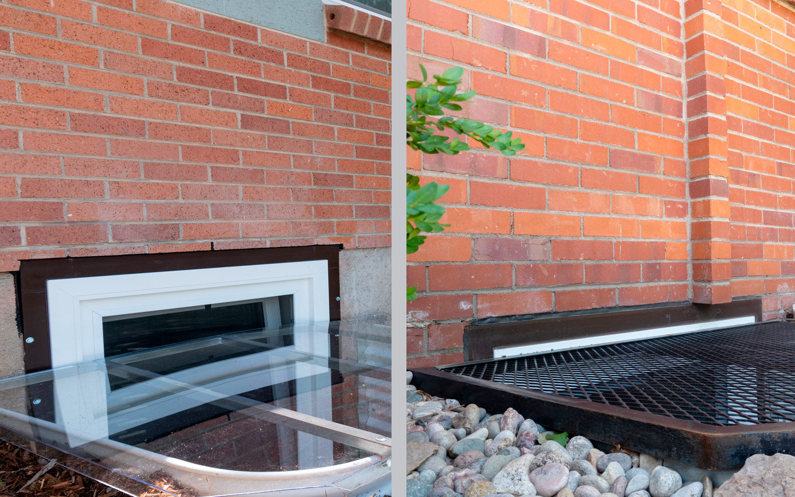 window well cover vs grate